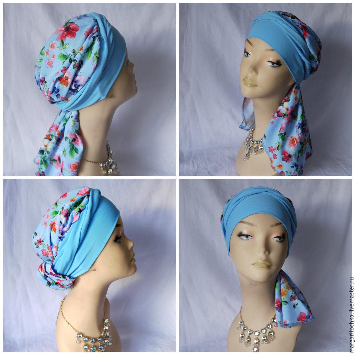 Полотенце для головы шьём своими руками