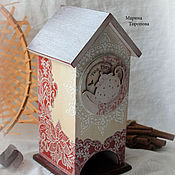 Для дома и интерьера handmade. Livemaster - original item Tea house for tea bags