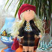 """Куклы и игрушки ручной работы. Ярмарка Мастеров - ручная работа """" Жаклин """" - текстильная куколка.. Handmade."""