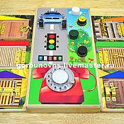 Куклы и игрушки handmade. Livemaster - original item Educational Module Board Basebord