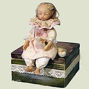 Куклы и игрушки ручной работы. Ярмарка Мастеров - ручная работа Забавушка. Авторская кукла - Юльфик.. Handmade.