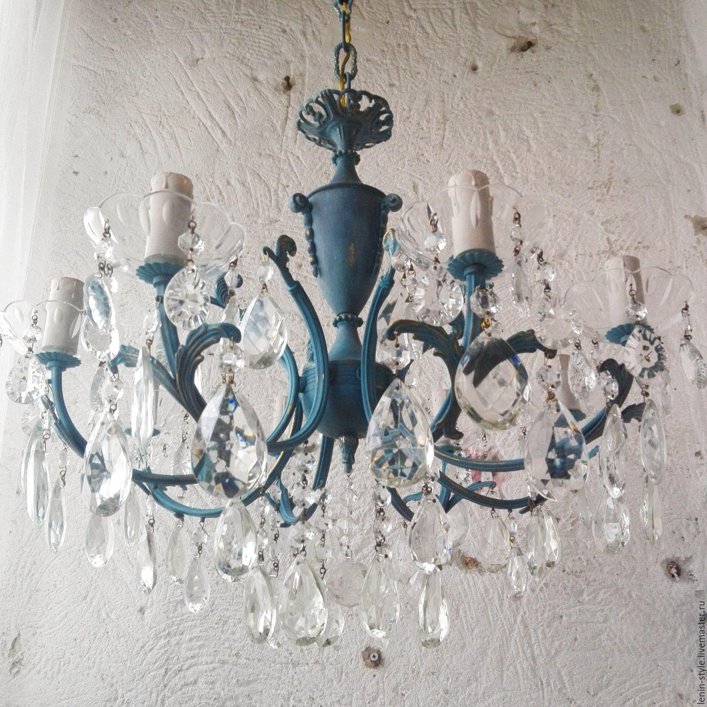 – Ярмарке Мастеров lujo интерьера de купить VendidaDe lámpara – BVCFXCOMВинтажные предметы deItalia azul techo на con colgantesLas medallas EeDH2YW9I