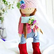 """Куклы и игрушки ручной работы. Ярмарка Мастеров - ручная работа В НАЛИЧИИ - Интерьерная кукла """"Малышка - Зайка"""". Handmade."""