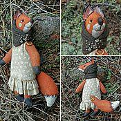 Куклы и игрушки ручной работы. Ярмарка Мастеров - ручная работа Чердачная лисичка. Handmade.