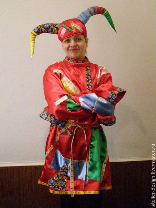 Карнавальные костюмы ручной работы. Ярмарка Мастеров - ручная работа. Купить Костюм шута,скомороха.. Handmade. Маскарадный костюм, шут