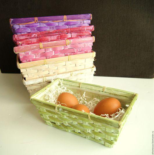 корзинка плетеная упаковочная `Весенняя`