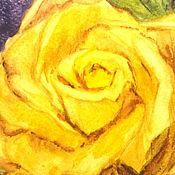 """Открытки ручной работы. Ярмарка Мастеров - ручная работа Открытка """"Роза"""". Handmade."""