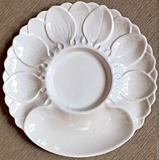 Винтажная посуда. Ярмарка Мастеров - ручная работа. Купить Большое сервировочное блюдо , Англия. Handmade. Белый, украшение стола