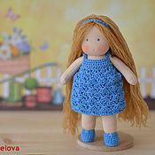 Куклы и игрушки ручной работы. Ярмарка Мастеров - ручная работа Вальдорфская кукла Светлана, 15 см. Handmade.