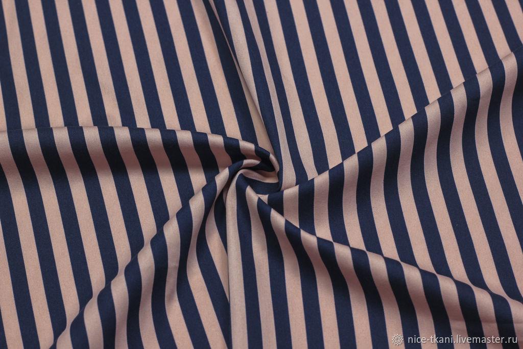 158601 ткань в полоску коттон стрейч , хлопок стреч , полосатая ткань, Ткани, Ростов-на-Дону,  Фото №1