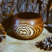 Для дома и интерьера handmade. Livemaster - original item The vase is Handmade of Siberian ELM for dried flowers #V4. Handmade.