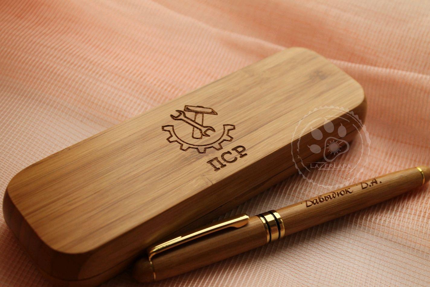 с именной гравировкой в подарочной коробке персональный подарок, Ручки, Тверь,  Фото №1