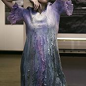 """Одежда ручной работы. Ярмарка Мастеров - ручная работа Авторское валяное платье """"Лесная нимфа"""". Handmade."""