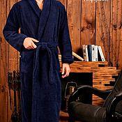 Одежда ручной работы. Ярмарка Мастеров - ручная работа Халат класса Lux с вышивкой. Handmade.