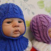 """Работы для детей, ручной работы. Ярмарка Мастеров - ручная работа шапка-шлем """"я родился"""". Handmade."""