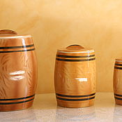 Винтаж handmade. Livemaster - original item Not luck if it?! Three banks-sister! And all with their own lids!. Handmade.