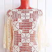 Одежда handmade. Livemaster - original item Tunic:
