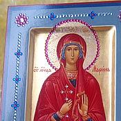 Картины и панно ручной работы. Ярмарка Мастеров - ручная работа МАРИНА ,святая мученица ,рукописная икона. Handmade.