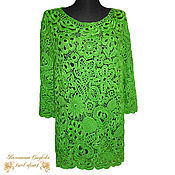 Одежда handmade. Livemaster - original item blouse crochet