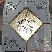 Для дома и интерьера ручной работы. Ярмарка Мастеров - ручная работа Витражные стекла.. Handmade.