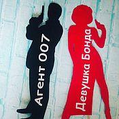 Сувениры и подарки ручной работы. Ярмарка Мастеров - ручная работа Фотобутафория  Агент 007. Handmade.