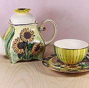 Посуда handmade. Livemaster - original item Tea set porcelain