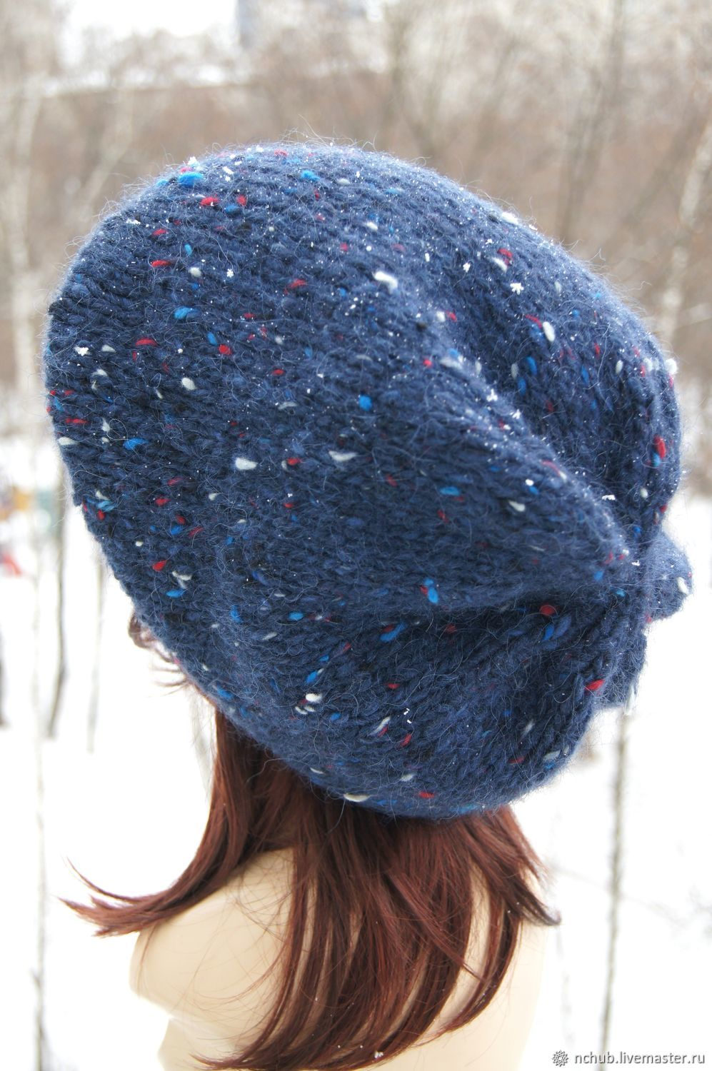 6b6bce5926c6d Little pleasures · Berets handmade. Takes Blue volume knitted from Icelandic  wool 100%.
