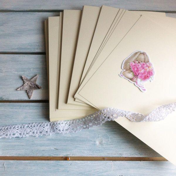 Плотность бумага для открыток