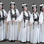 Одежда ручной работы. Ярмарка Мастеров - ручная работа Калмыцкий национальный танец. Handmade.