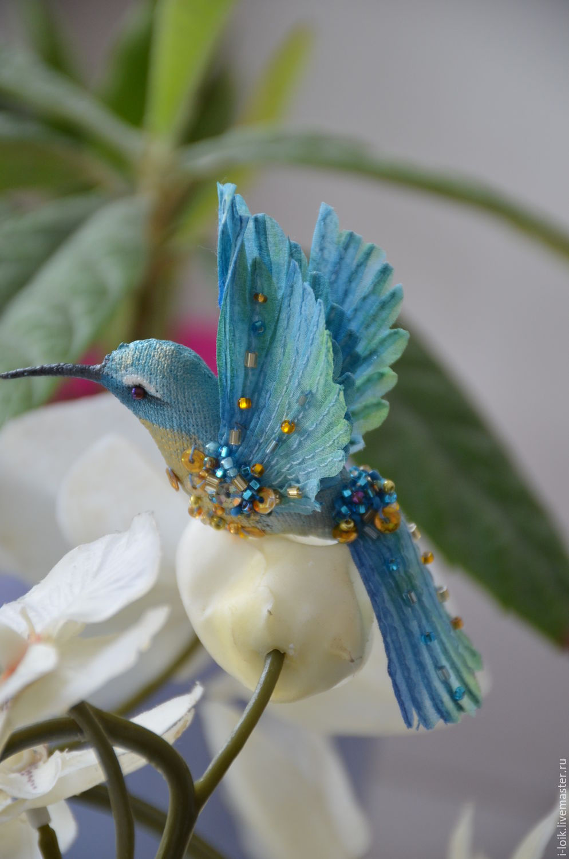 выкройки птиц колибри из ткани