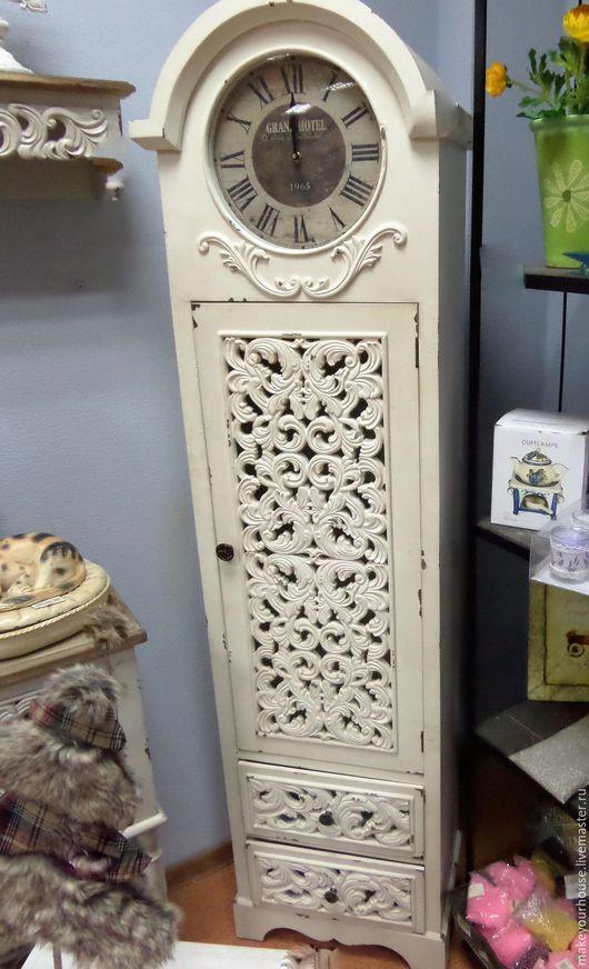 "Часы для дома ручной работы. Ярмарка Мастеров - ручная работа. Купить Часы-шкафчик. ""Grand Hotel"" Винтаж.. Handmade. Часы"