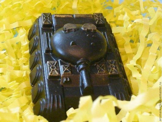 """Мыло ручной работы. Ярмарка Мастеров - ручная работа. Купить Мыло-скраб """"Танк"""". Handmade. Подарок на день рождения"""