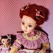 Куклы и игрушки ручной работы. Ярмарка Мастеров - ручная работа Девочка Ниночка в розовом платье.. Handmade.
