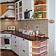 """Мебель ручной работы. Заказать Кухня в стиле """"Прованс"""" из массива сосны. Виктор Тихонов / Мебель 'Lovene'. Ярмарка Мастеров."""