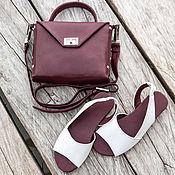 Обувь ручной работы handmade. Livemaster - original item Sandals made of genuine leather Chloe. Womens leather shoes. Handmade.