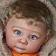 Куклы-младенцы и reborn ручной работы. Лизёнок. Дарья Панова (Pikcha). Интернет-магазин Ярмарка Мастеров. Кукла, стекло
