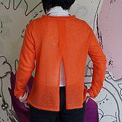 Одежда ручной работы. Ярмарка Мастеров - ручная работа Туника с разрезом из мохера. Handmade.