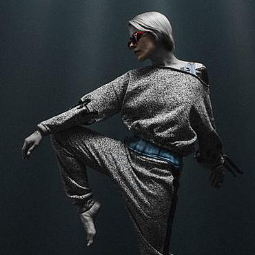 Одежда ручной работы. Ярмарка Мастеров - ручная работа Костюм Grey. Handmade.