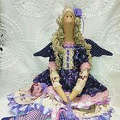 Куклы и игрушки ручной работы. Ярмарка Мастеров - ручная работа Кукла интерьерная Тильда Лавандовый ангел. Handmade.