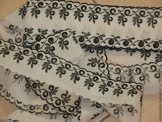 Реставрация. Ярмарка Мастеров - ручная работа. Купить Винтажное французское шитьё. цвет черно-белый. Handmade. Чёрно-белый