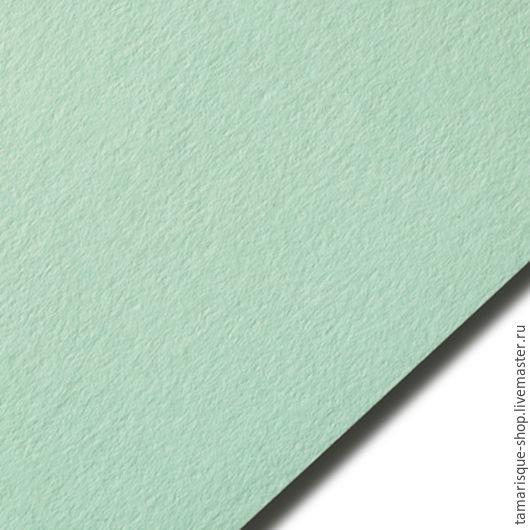 Открытки и скрапбукинг ручной работы. Ярмарка Мастеров - ручная работа. Купить Кардсток светло-зеленый, 270 гр. Handmade. Бумага