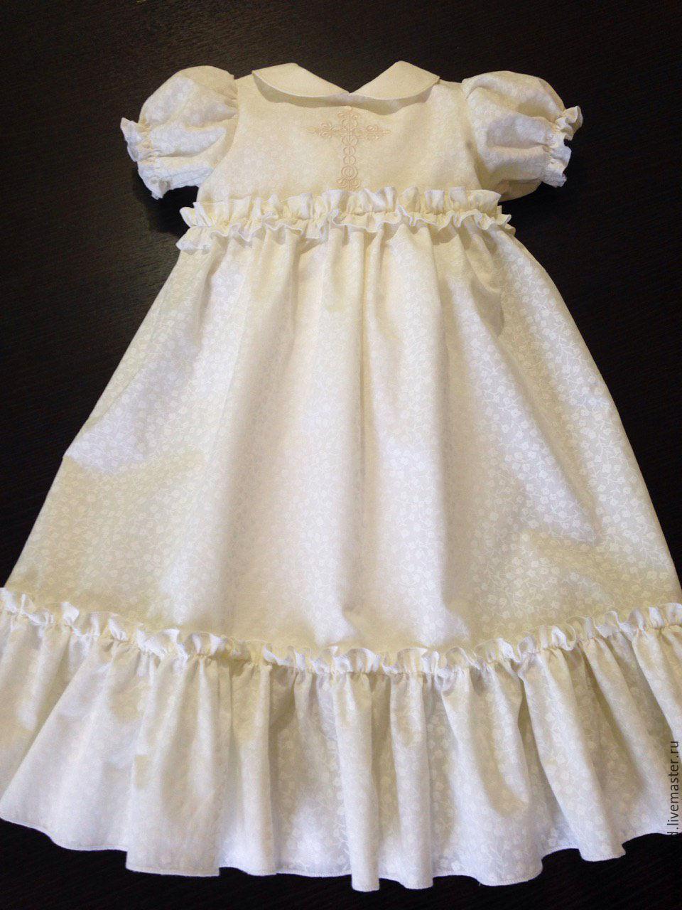 Нарядное крестильное платье для девочки своими руками 36