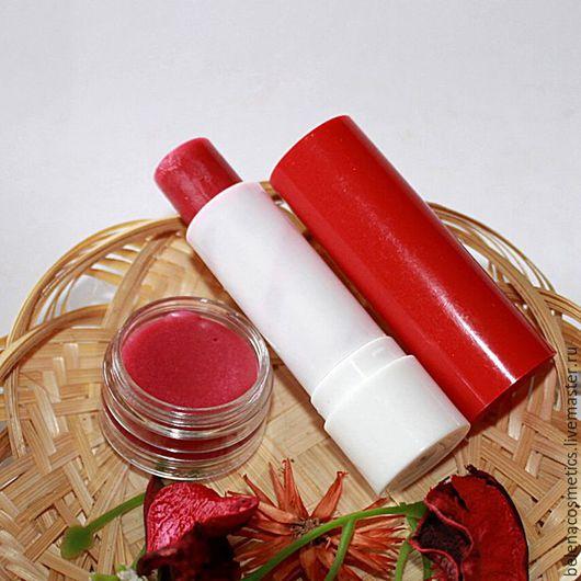 Бальзам для губ `Вишневый сок`, уход и защита,