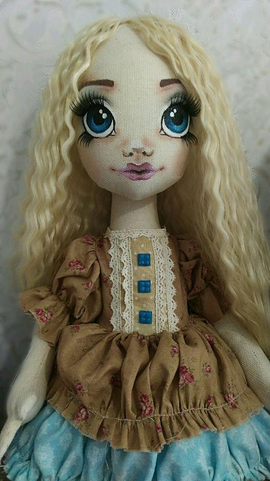 Коллекционные куклы ручной работы. Ярмарка Мастеров - ручная работа. Купить Текстильная кукла. Handmade. Кукла ручной работы, для девочки
