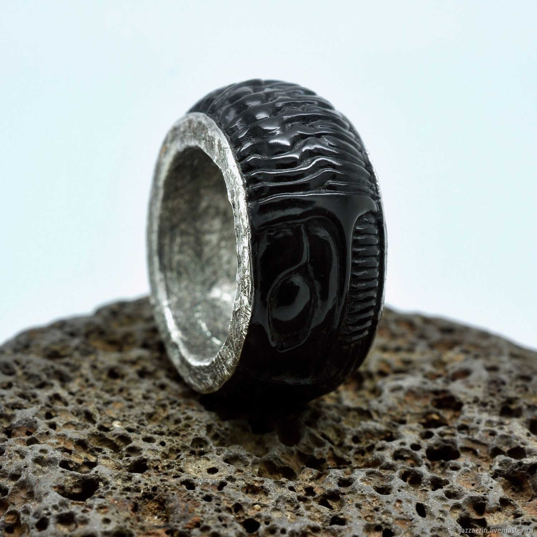 Black Biomechanical ring, Rings, Vladivostok,  Фото №1