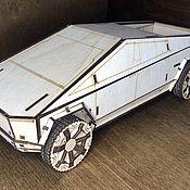 Техника, роботы, транспорт ручной работы. Ярмарка Мастеров - ручная работа Tesla Cybertruck. Handmade.
