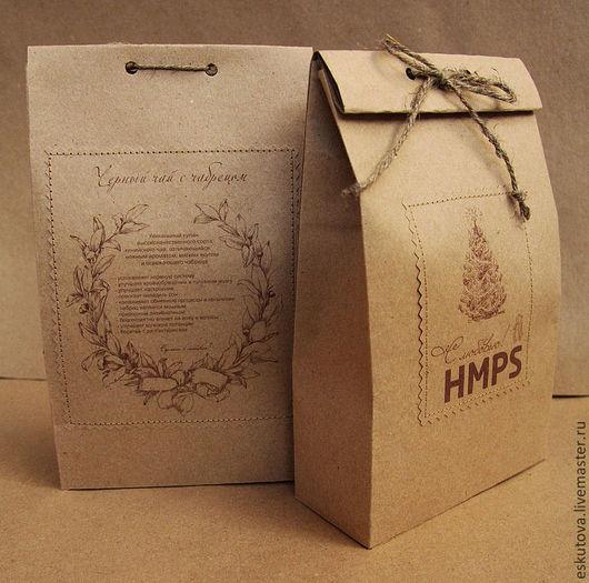 Подарочная упаковка ручной работы. Ярмарка Мастеров - ручная работа. Купить Подарочная упаковка из крафт бумаги по вашим размерам. Handmade.