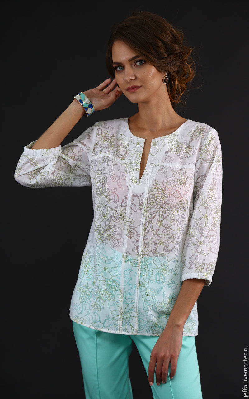 Итальянские женские блузки