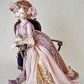 Куклы и игрушки ручной работы. Ярмарка Мастеров - ручная работа DeLys шарнирная кукла из фарфора. Handmade.