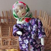 Куклы и игрушки handmade. Livemaster - original item came the grandchildren - left grandchildren( grandma, a textile doll). Handmade.